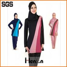 wholesale custom muslim waterproof swimwear