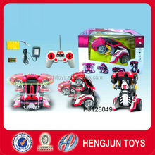EN71/ASTM/ROHS promotional toy multifunction 8CH R/C electric car with light and music & 360 spins for kids gift