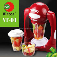 hot small kitchen applicance 3 cups stainless steel smoothie maker/juicer machine/hand juicer maker