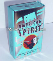 American spirit tobacco tin