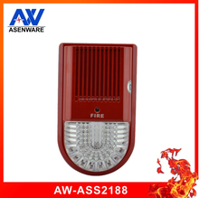 Professional Fire Alarm strobe and sound siren for addressable alarm system with CE and ROHS