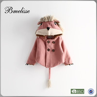 2014-2015 wholesale fashion kids house hoodies with tales chrimas hodies coat winter for 2-7 years old Stock
