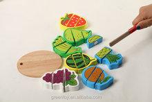 Wooden educational toy wood block preschool toys