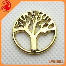 Large Rhinestone Pendants Plate,Fashion Necklace Tree Shape Plate,Meaningful Locket Plate