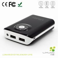 Fashion Fast Charging 8400mAh Power Bank, Portable Mobile Phone Fast Charger,Portable Fast Charging Power Bank With Flash Light