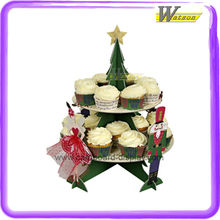 Corrugated Paper Cupcake Display Rack with Delicate Design Applicable to ARIEL Cupcakes or Other Brands