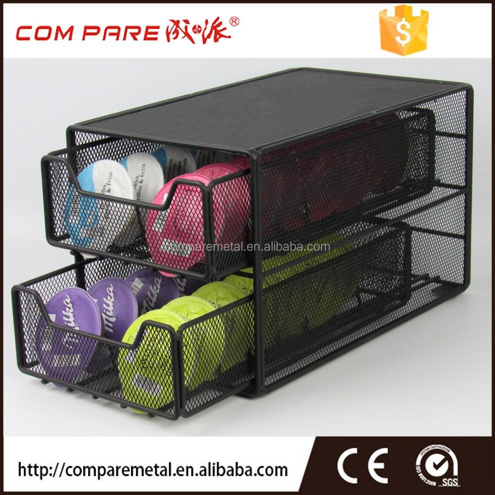 2 niveau tassimo t disque caf capsule pod tiroir de rangement porteurs tag res de rangement. Black Bedroom Furniture Sets. Home Design Ideas