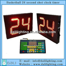 NBA CBA equipment factory supplier of one face shot clock with time for basketball