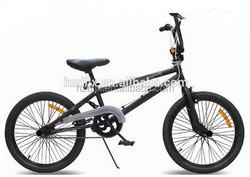 2015 hot sale 20 inch hi-ten steel bmx bike freestyle bike made in China