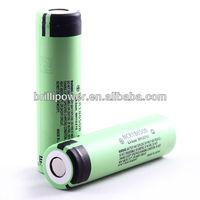 panasonic cgr 18650 3.7V 3400mAh li ion rechargeable battery for electric bike/rc car