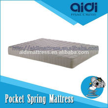 Comfortable 5-Zone Pocket Spring 100% Natural Latex Bed Mattress Used Bedroom Furniture Sets