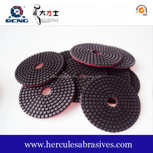 4 Inch Diamond Wet Polishing Pads Marble Granite Resin Polishing Pad