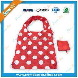100% Full Dots Priting Foldable Polyester Bag