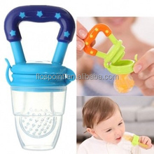 Baby Safety Silicone Nipple Food Storage Container Food Feeder