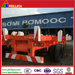60Ton Container Yard Chassis / Container Bomb Cart / Terminal Semi Trailer Used in Wharf