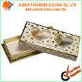 cartão de ouro caixa de chocolates