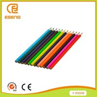 High standard 7'' wooden mechanical colorful pencil