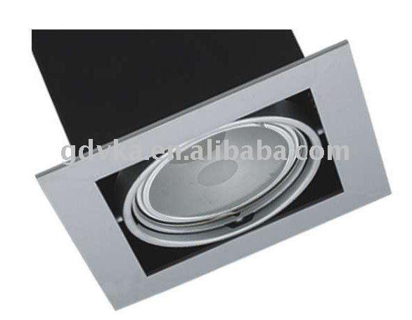 g12 35/70w empotrada de la lámpara halógena centro de atención de la parrilla fácil instalación comercial de punto de luz