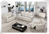 white leather recliner sofa,leather sofa,home furniture