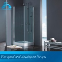 Top Quality Clearance Price Get Your Own Designed Acrylic Tray Spacious Shower Room