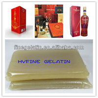 jelly glue for high speed casemaking machinery/animal safe skin jelly glue