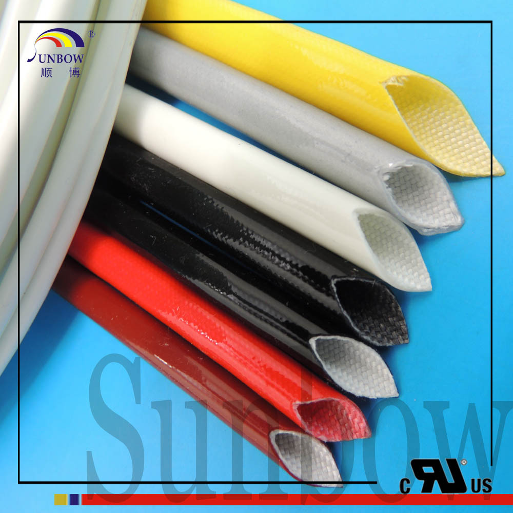 Resistant double layer silicone fiber weaving casing buy double