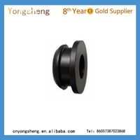 black silicone rubber grommet food grade