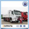 sinotruk howo 6x4 336hp 16m3 dump truck 24 ton to transport sand or stone
