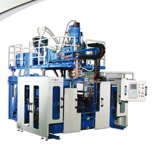FRONT SPOILER ACCUMULATOR EXTRUSION BLOW MOULDING MACHINE