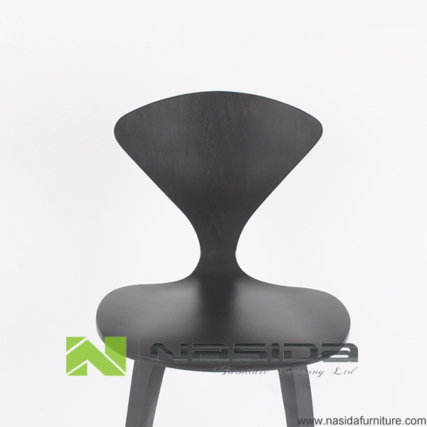 Ch218 Norman Cherner Wooden Bar Stool Buy Norman Cherner