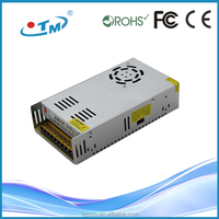 Newest 360w power supply 12v 30a led driver rs232 485 bnc converter