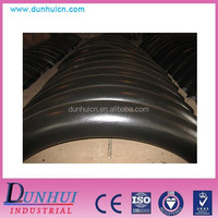 Carbon steel seamless bend /ductile iron 90 deg double flanged bend/pipe fitting