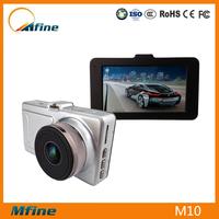 Full hd 1080p camera car dvr with loop recording car dash camera 3 inch screen