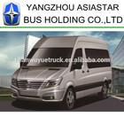 yangzhou nova asiastar euris mini van ônibus mpv