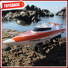 Huanqi NQD Double Horse Feilun 2.4G 4CH Brushless High speed Electric RC Boat FT009 toy cruise ship