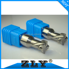 Anticlockwise helix cutter end mill slot tool