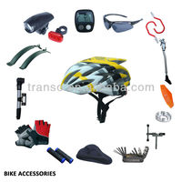 2015 new bike accessories/bicycle parts for bicycle-computer-glasses-saddle-pump