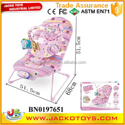 2015 New baby chair with shaking& IC, multifunction baby chair car