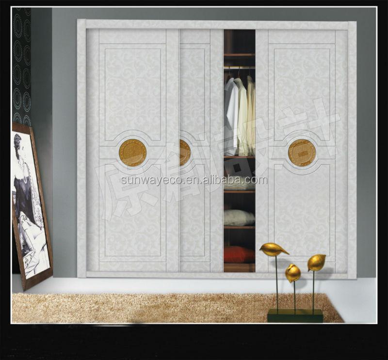 Armoire Murale / Contemporaine / Nice Armoire Murale Porte Coulissante #13:  Pvc Porte Coulissante Panneau WPC Décoration Panneau Mural · «