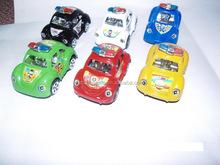 Pull back beetles cartoon car Children's Toy