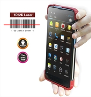 Cilico 7inch tablet rfid hand reader, barcode scanner and UHF is available if necessary