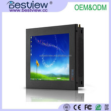 "Bestview Fanless 15 inch Industrial All in one PC open frame optional/8"" 10"" 12""17"" 18.5"" 19"" 21.5"" 23.6"" touch All in one PC"