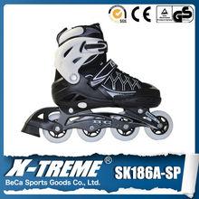 bambini scarpe da skate roller quattro ruote del rullo scarpe da skate caldo pattini a rotelle rosa