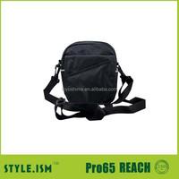 Small black moblie phone and wallet shoulder bag