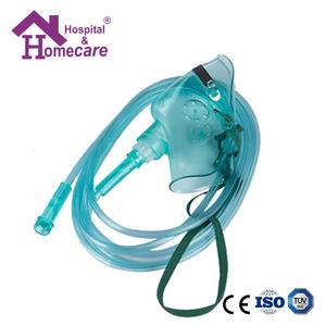 PVC desechable adulto niño oxígeno máscaras para quirúrgica