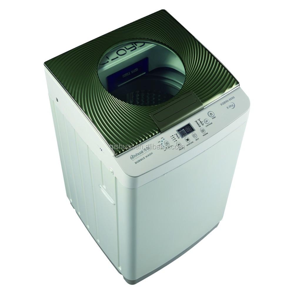 hairs in washing machine