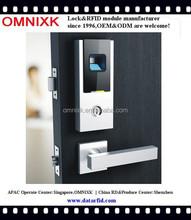 D-7020 RFID card fingerprint keyless door lock for government