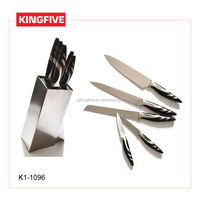 Stainless steel sharp double edge kitchen knife