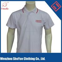 OEM manufacture plain men polo shirt, unbranded polo shirts