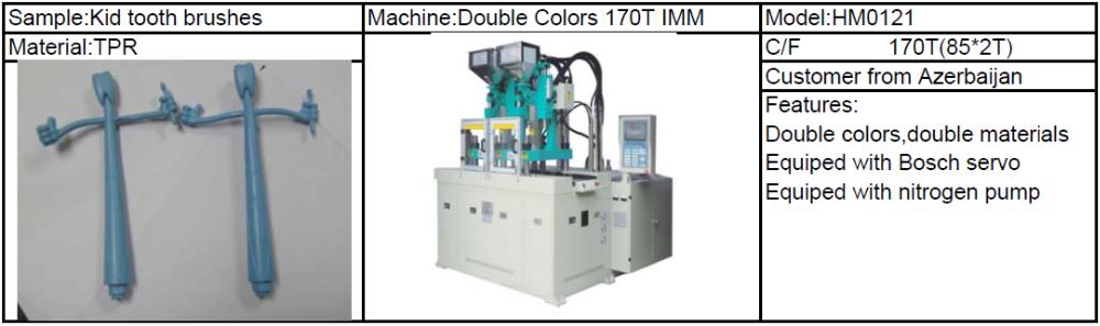 Hm092 55 Ton Vertical petite Micro en plastique Machine de ...